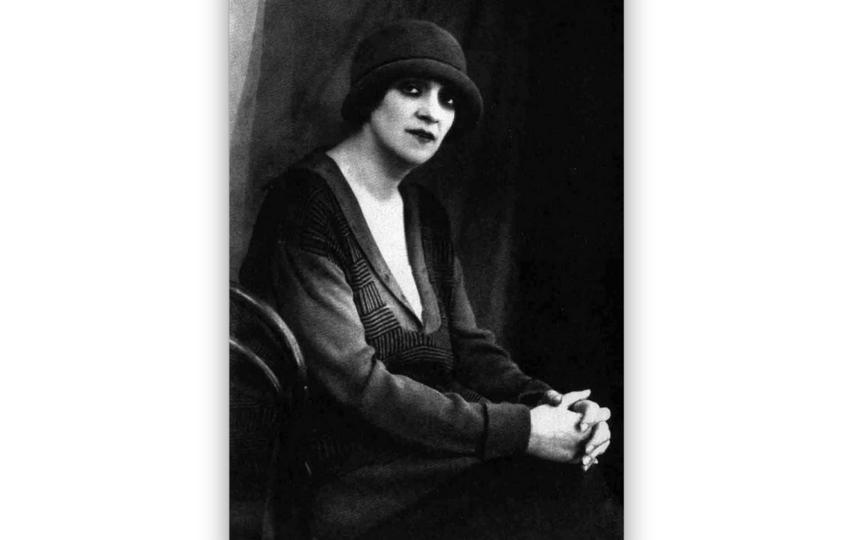 Фаина Раневская в Баку. 1929 год. Фото wikipedia.org
