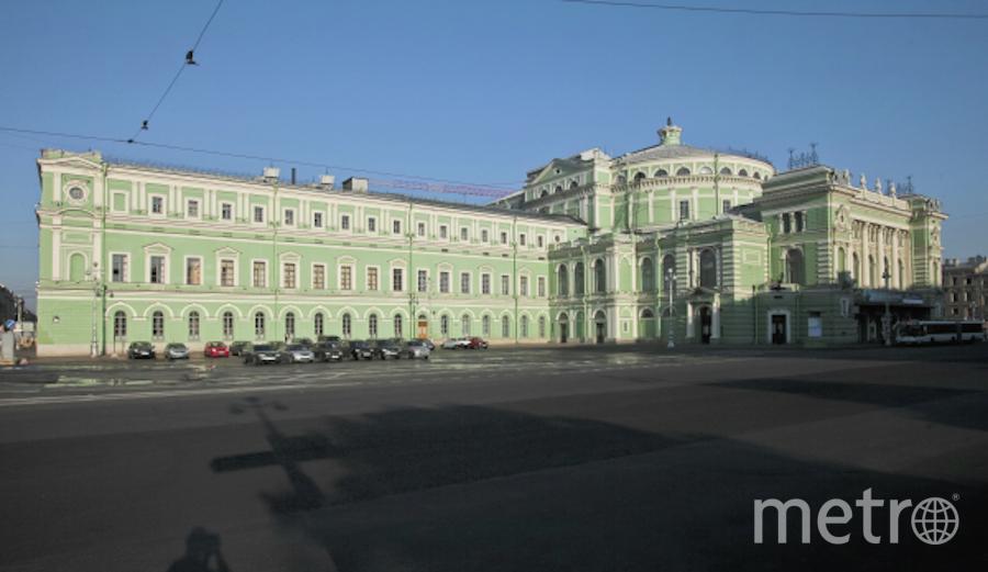 Здание Мариинского театра. Фото РИА Новости