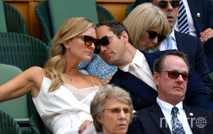 Джуд Лоу и Филиппа Коэн поженились в апреле 2019 года после четырёх лет отношений. Фото Getty