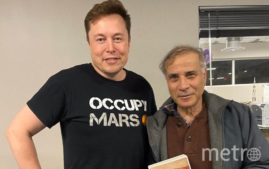 Роберт Зубрин и Илон Маск. Фото предоставлено Робертом Зубриным