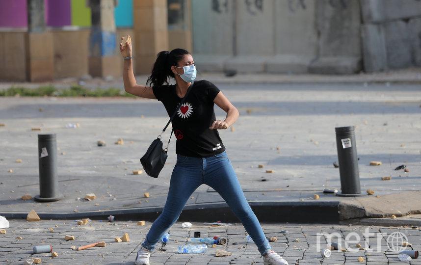 Участники акции требуют отставки правительства. Фото AFP