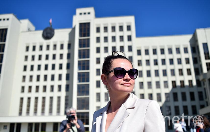 Светлана Тихановская. Фото AFP