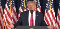 Дональд Трамп сбежал с пресс-конференции после вопроса журналистки: видео