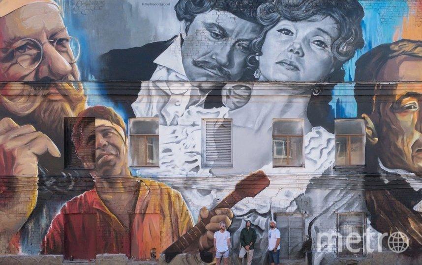 """На фасадах «Ленфильма» появятся граффити. Фото Алена Бобрович., """"Metro"""""""