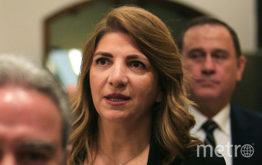 Министр юстиции Ливана Мари Клод Наджм. Фото AFP
