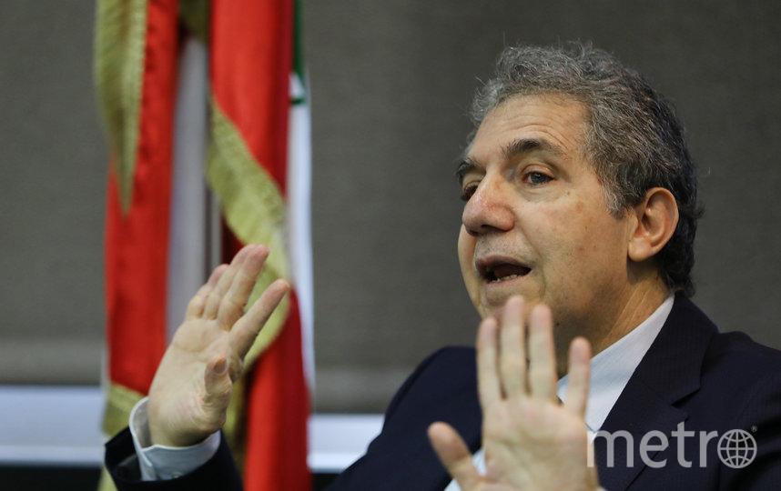 Министр финансов Ливана Гази Вазни. Фото AFP
