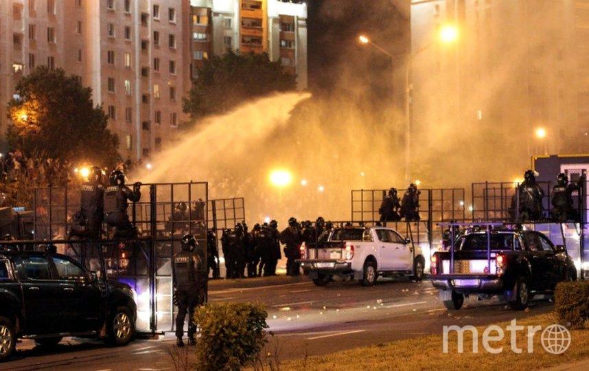 В Белоруссии проходят акции протестов. Фото AFP.