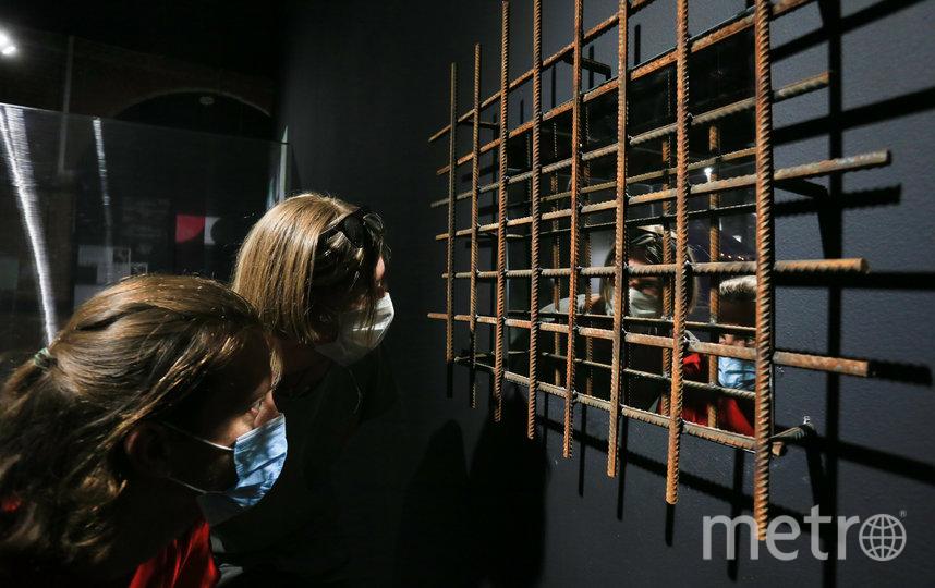 Инсталляция «Каждый мог там побывать» посвящена теме репрессий. Фото Василий Кузьмичёнок