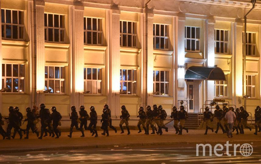 В Минске начались задержания протестующих. Фото AFP