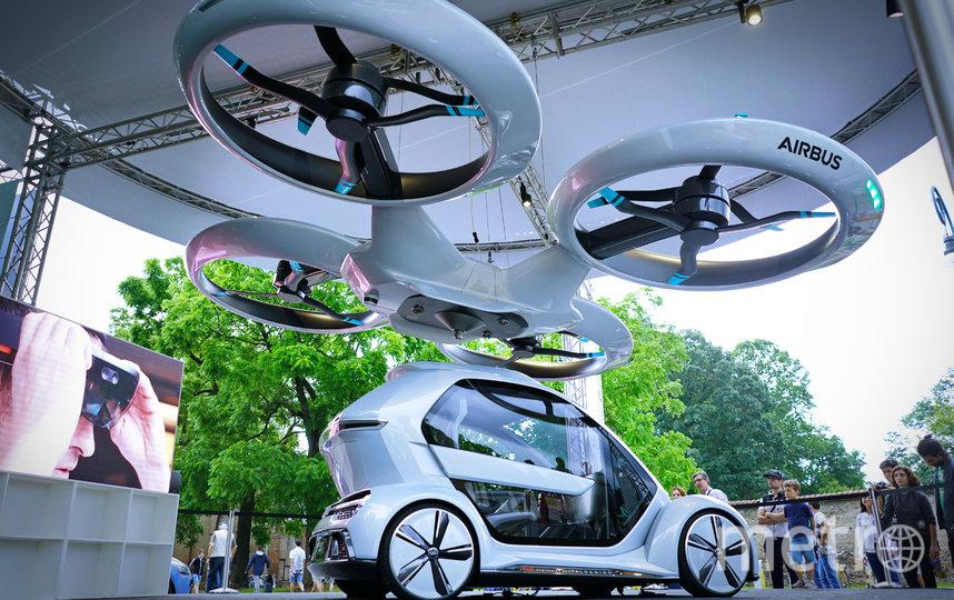 """Аэротакси. Фото Пресс-служба форума """"Сильные идеи для нового времени"""""""