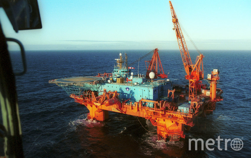 """Норвежское судно с глубоководным оборудованием. Именно норвежцы открыли аварийно-спасательный люк """"Курска"""". Фото Getty"""