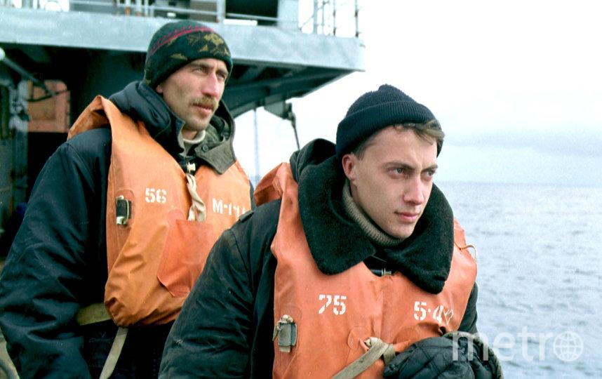 Российские моряки в дни спасательной операции. Фото Getty