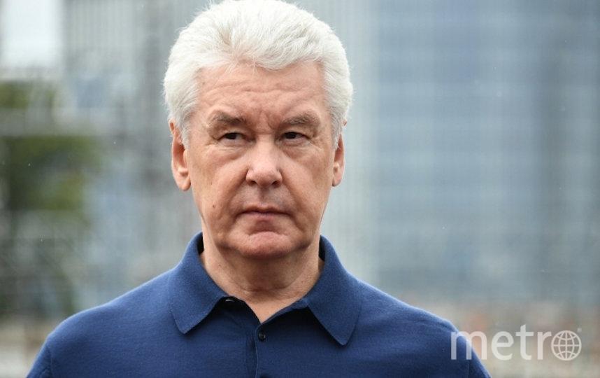 Сергей Семёнович Собянин. Фото РИА Новости