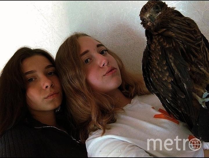 Юлия, Елизавета и птица. Фото предоставили герои публикации.