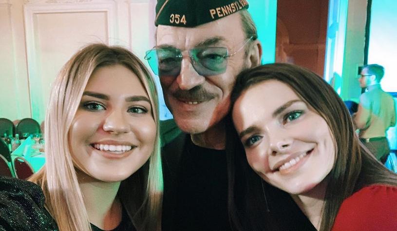 Екатерина Боярская с любимым дедушкой и тётей Лизой. Фото Instagram @boyarskaya.katerina