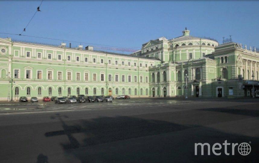 Подрядчикотметил, чтопод зданием театра подземные работы сейчас не ведутся. Фото  РИА Новости.