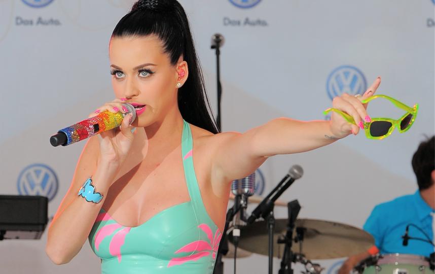 С 2008 года Кэти становится одной из самых ярких звёзд поп-музыки. Фото Getty