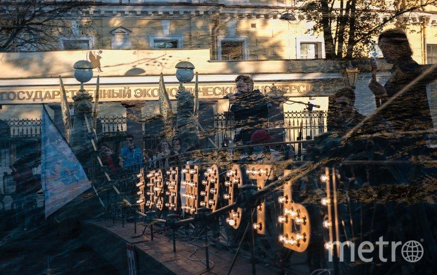 """Три вечера подряд петербуржцы смогут послушать выступления артистов на мостах. Фото https://vk.com/lenmosty2020, """"Metro"""""""