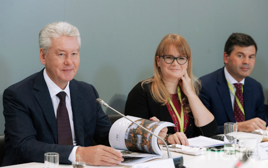 Мэр Москвы Сергей Собянин (слева) и Наталья Сергунина. Фото РИА Новости
