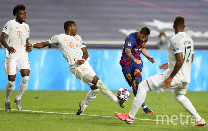 """Барселона"" не смогла навязать борьбу ""Баварии"". Фото Getty"