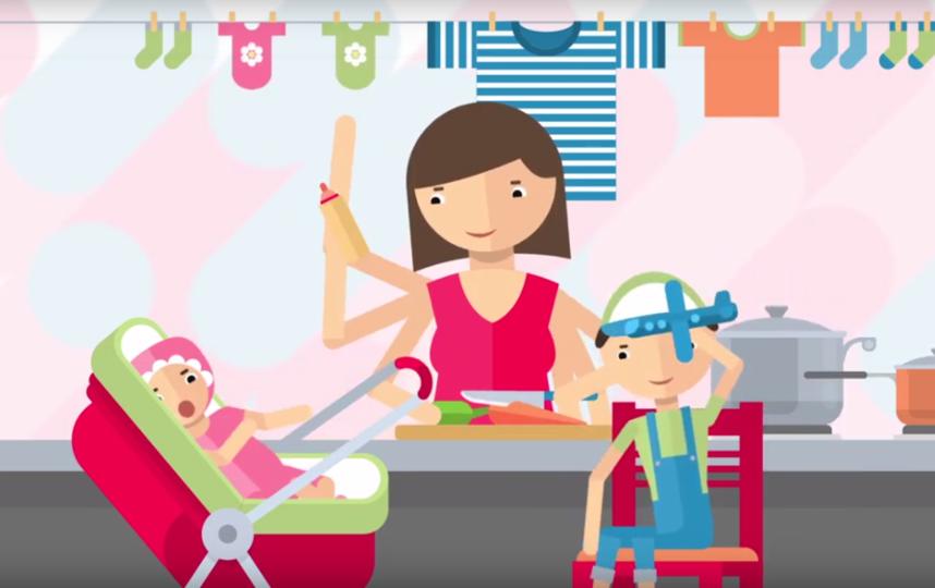 """""""Мама-предприниматель"""" – федеральная образовательная программа. Фото Благотворительный фонд Amway """"В ответе за будущее"""", Скриншот Youtube"""