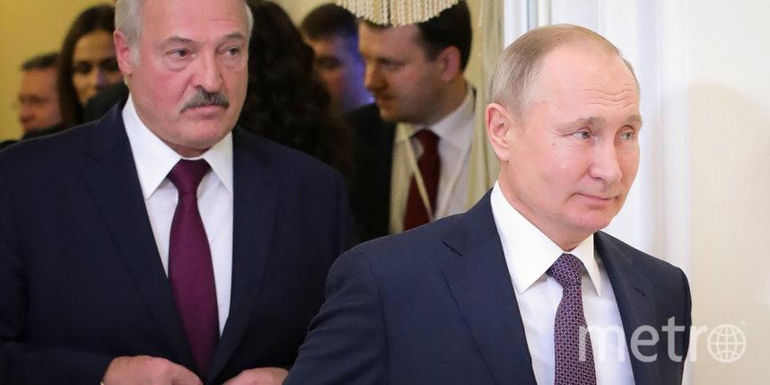 Владимир Путин и Александр Лукашенко обсудили ситуацию в Белоруссии