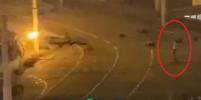 В Сети опубликовали видео, на котором запечатлён момент гибели протестующего в Минске