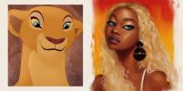Могли бы покорять сердца: художница из США превратила животных из Disney в принцесс