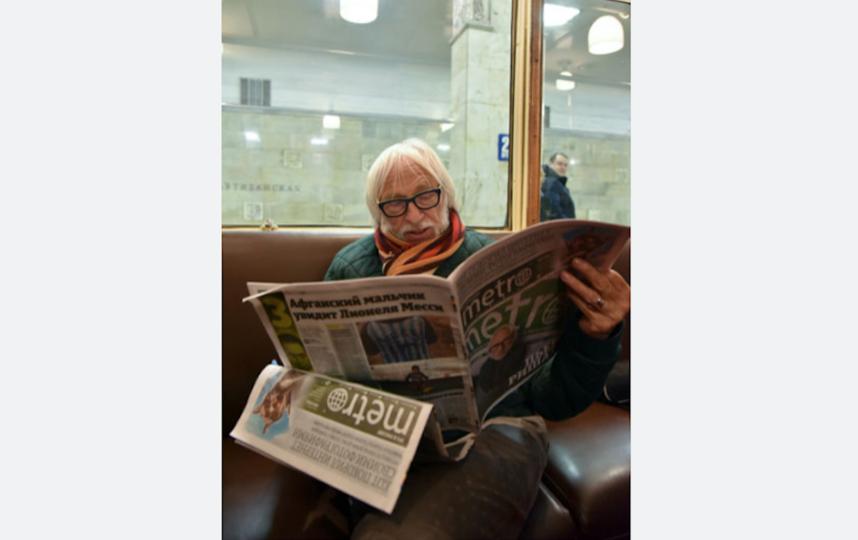 Пьер Ришар в редакции Metro. Фото Василий Кузьмичёнок