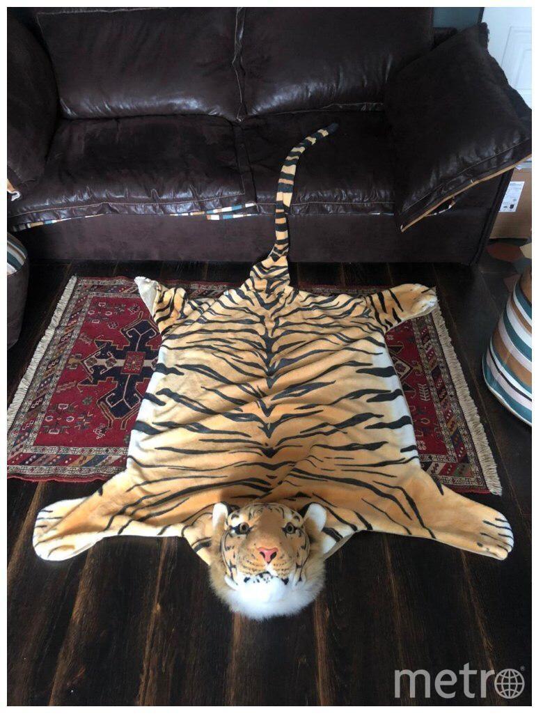 Коврик-тигр по имени Пьер. Фото все фото предоставлены героями материалов и пресс-службой Музея Москвы