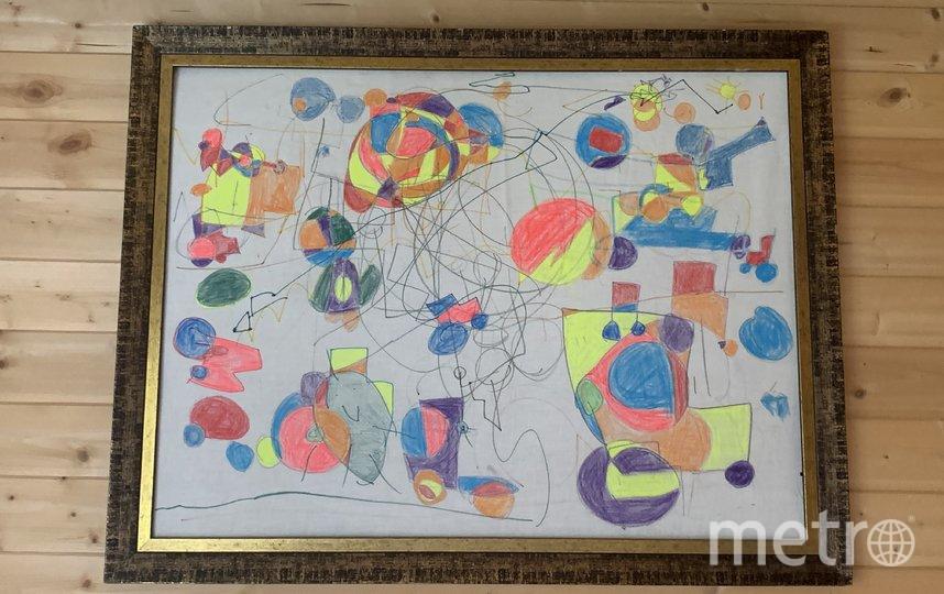 Картина на холсте из простыни. Фото все фото предоставлены героями материалов и пресс-службой Музея Москвы