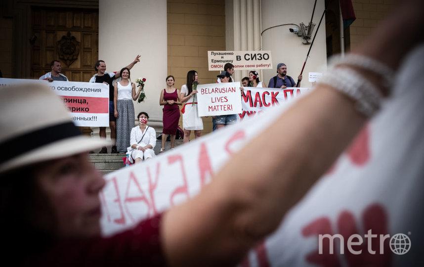 Протесты в Белоруссии. Фото Getty