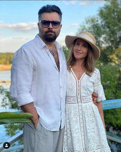 Юлия Ковальчук и Алексей Чумаков. Фото скриншот: instagram.com/juliakovalchuk/