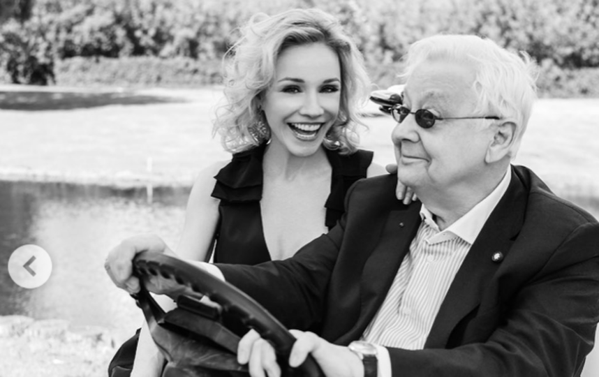 Олег Табаков и Марина Зудина. Фото Instagram @marinazudina_official