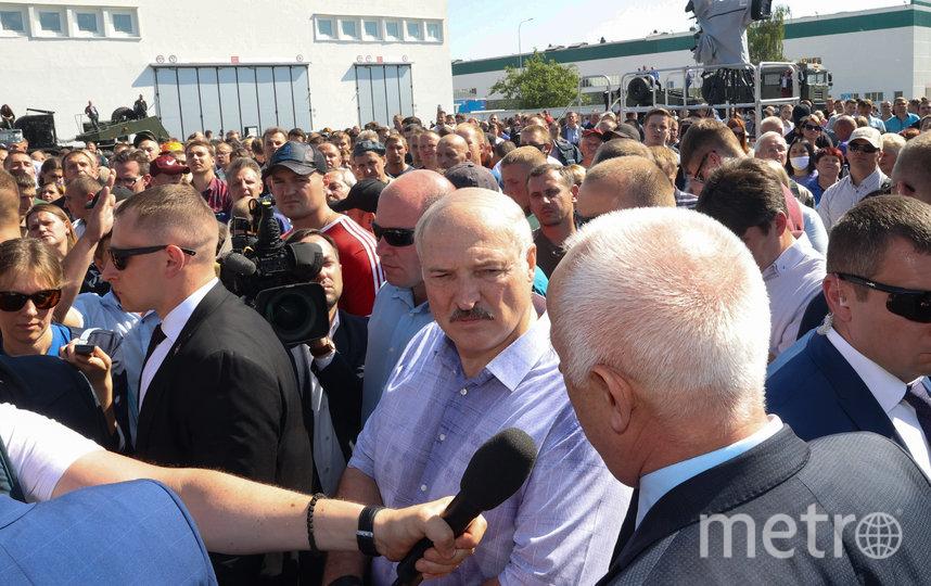 Президент Белоруссии на МЗКТ. Фото AFP