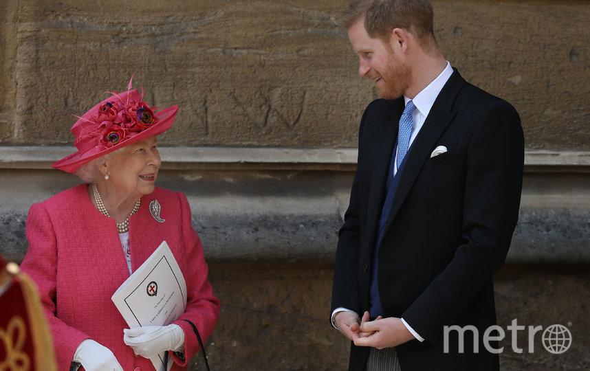 Елизавета II и принц Гарри. Фото Getty