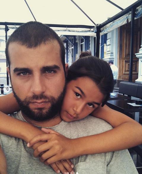 Эрика и Иван Ургант. Фото скриншот: instagram.com/urgantcom/