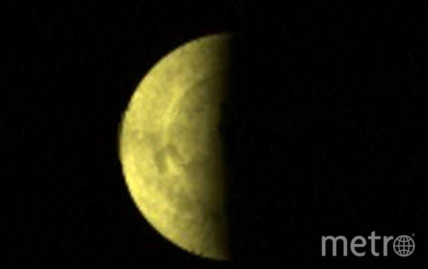 Южный полюс Венеры, снимок сделан в ультрафиолетовом спектре. Фото Getty