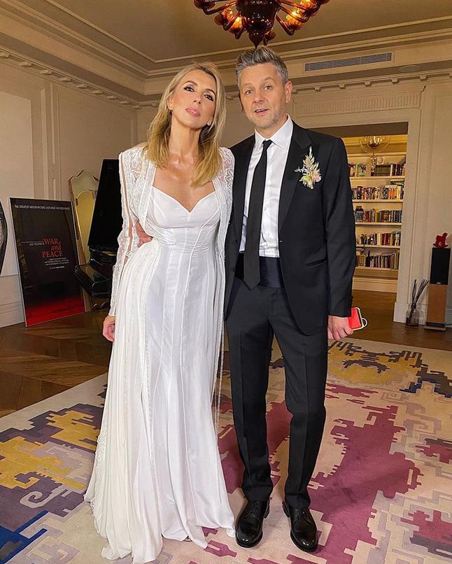 Светлана Бондарчук и Сергей Харченко. Фото Instagram @serdar_kambarov