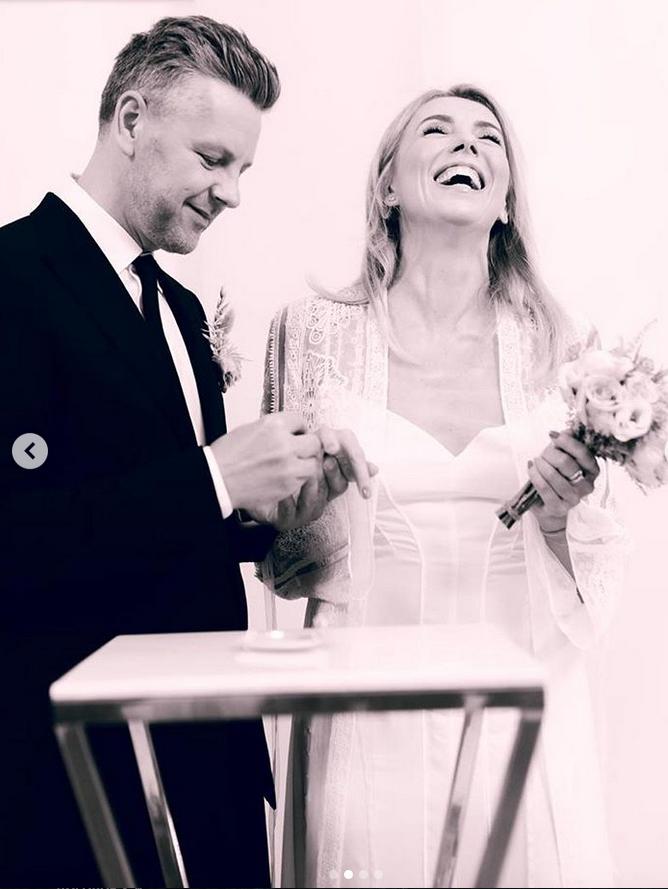 Светлана Бондарчук и Сергей Харченко. Фото Instagram @sirg74