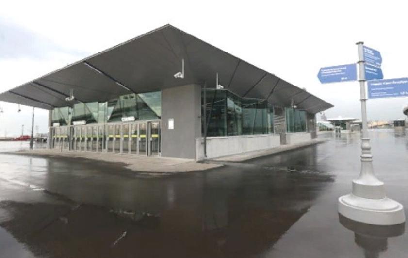 """Станцию метро переименовали в """"Зенит"""". Фото gov.spb.ru."""