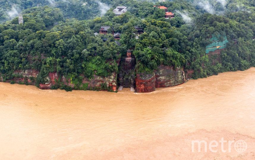 Возраст статуи составляет около 1200 лет. Фото AFP