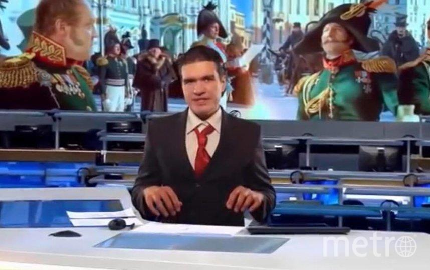 Евгений Баженов наконец добрался до нашумевшего «Союза спасения». Фото Скриншот Youtube