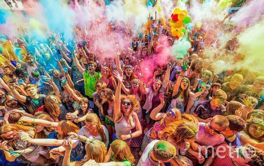 В Петербурге пройдет Всероссийский фестиваль красок. Фото Фото предоставлено организаторами.