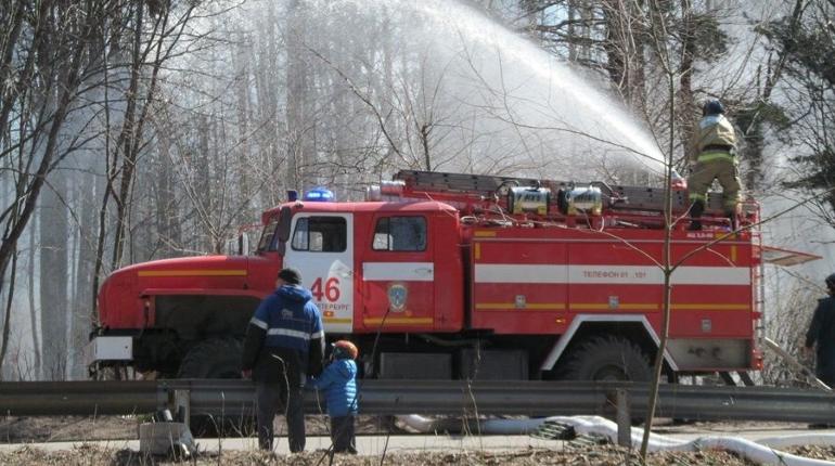 В Петербурге сохраняется пожароопасный сезон. Фото gov.spb.ru.