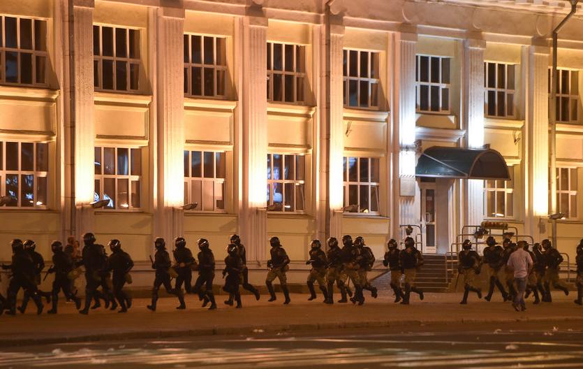 В Белоруссии проходят протесты. Фото AFP.