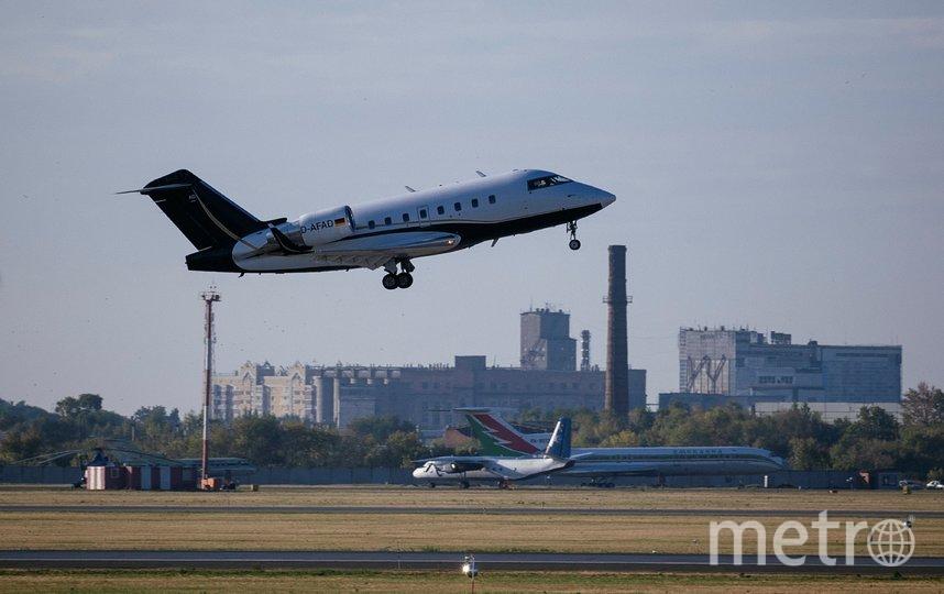 Самолет вылетел из Омска утром в субботу 22 августа. Фото AFP