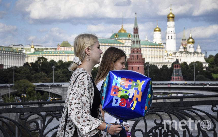 Летнее тепло пока не покинет Москву. Фото AFP