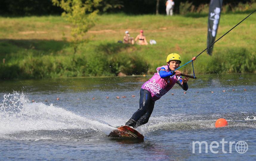 Участник соревнований. Фото Василий Кузьмичёнок
