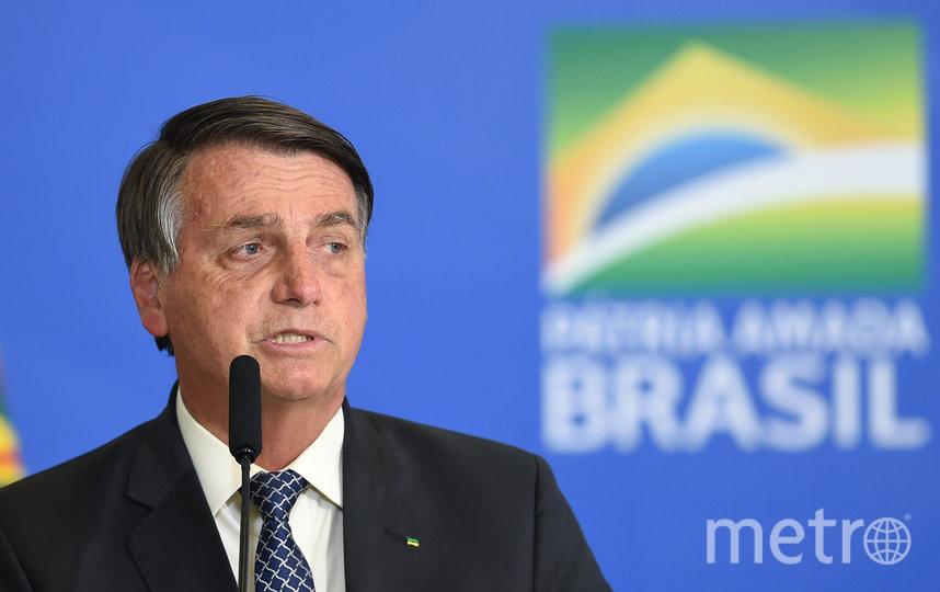 Президент Бразилии Жаир Болсонару. Фото AFP